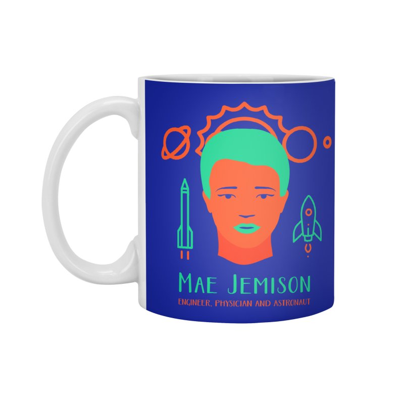 Mae Jemison Accessories Standard Mug by Jana Artist Shop
