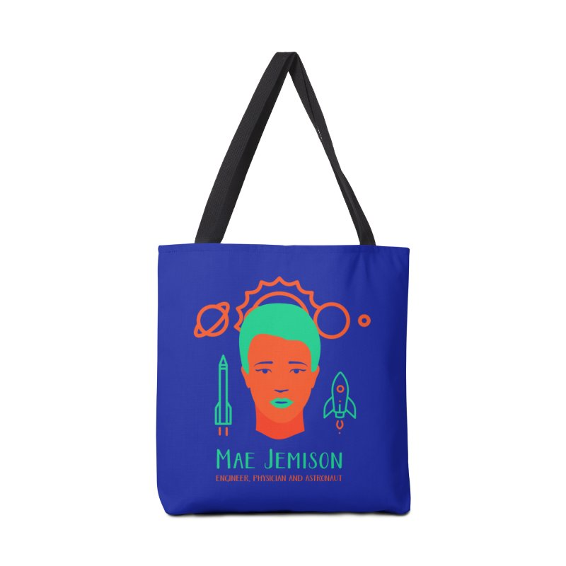 Mae Jemison Accessories Bag by Jana Artist Shop