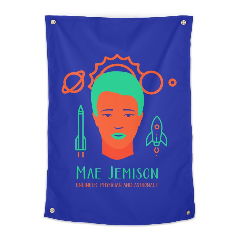 Mae Jemison Home Tapestry by Jana Artist Shop