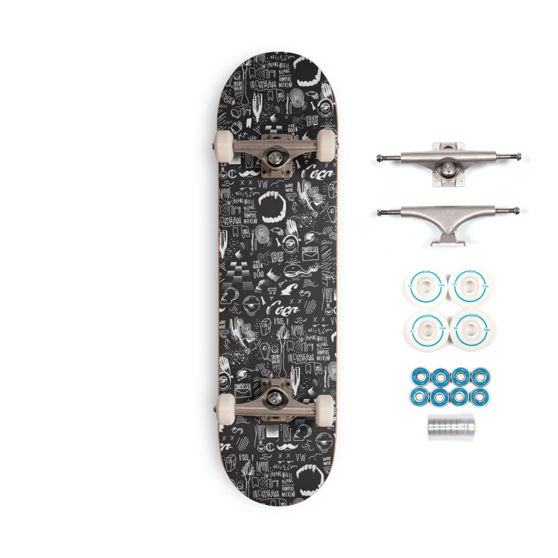 A Dream Accessories Complete - Basic Skateboard by Jana Artist Shop