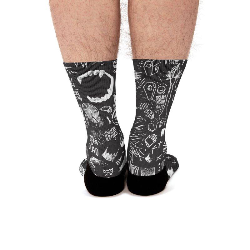 A Dream Men's Socks by Jana Artist Shop
