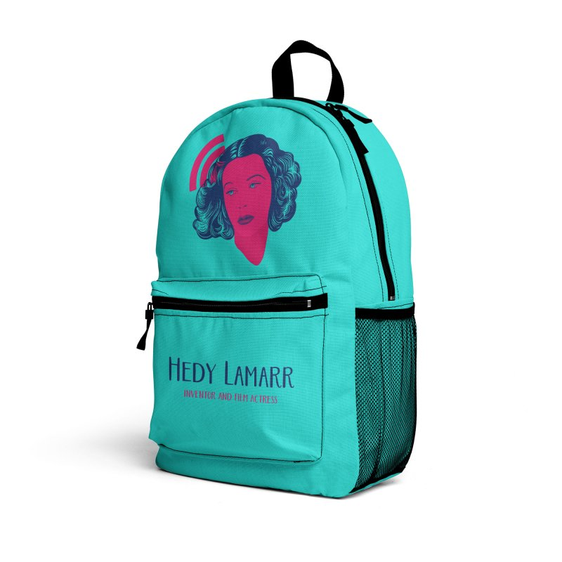 Hedy Lamarr Accessories Bag by Jana Artist Shop