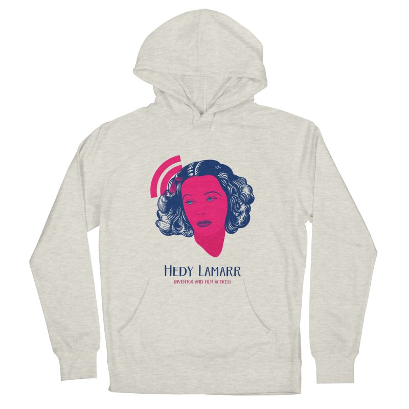 Hedy Lamarr Women's French Terry Pullover Hoody by Jana Artist Shop