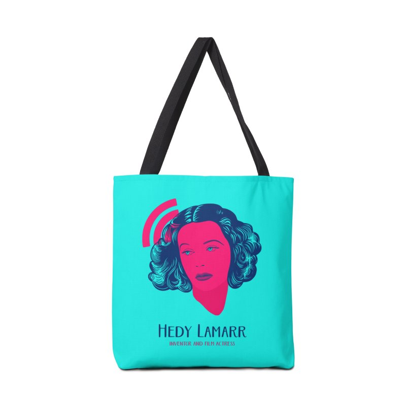 Hedy Lamarr Accessories Tote Bag Bag by Jana Artist Shop