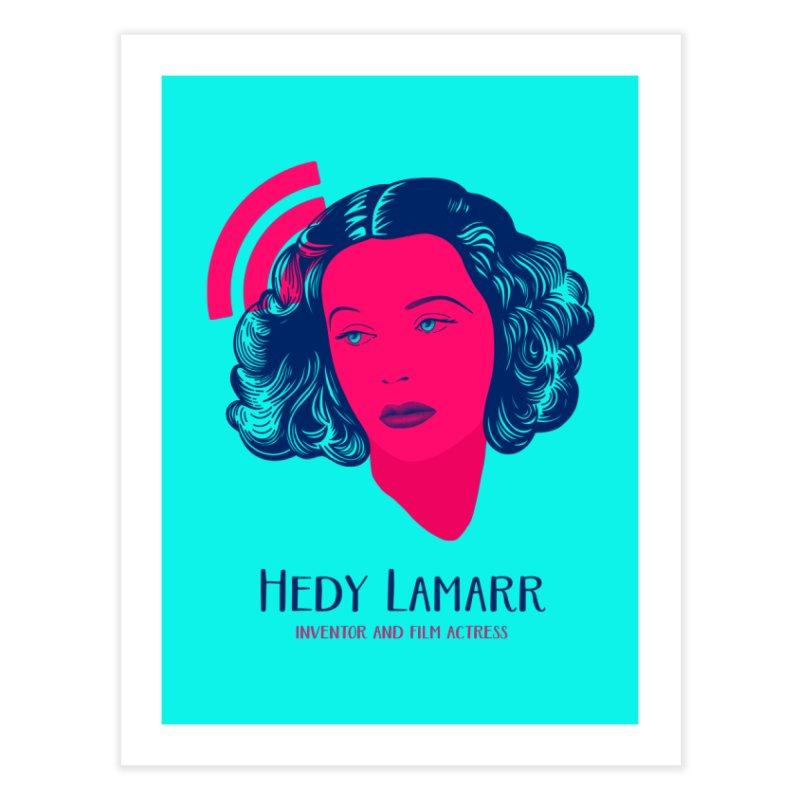 Hedy Lamarr Home Fine Art Print by Jana Artist Shop