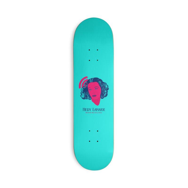 Hedy Lamarr Accessories Skateboard by Jana Artist Shop