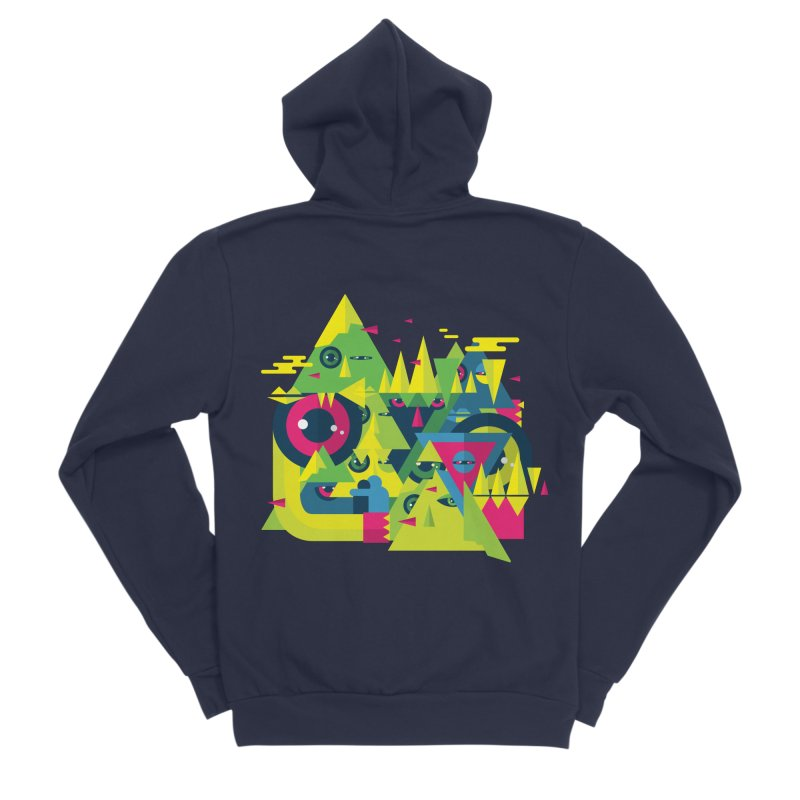 The Moment Men's Sponge Fleece Zip-Up Hoody by Jana Artist Shop