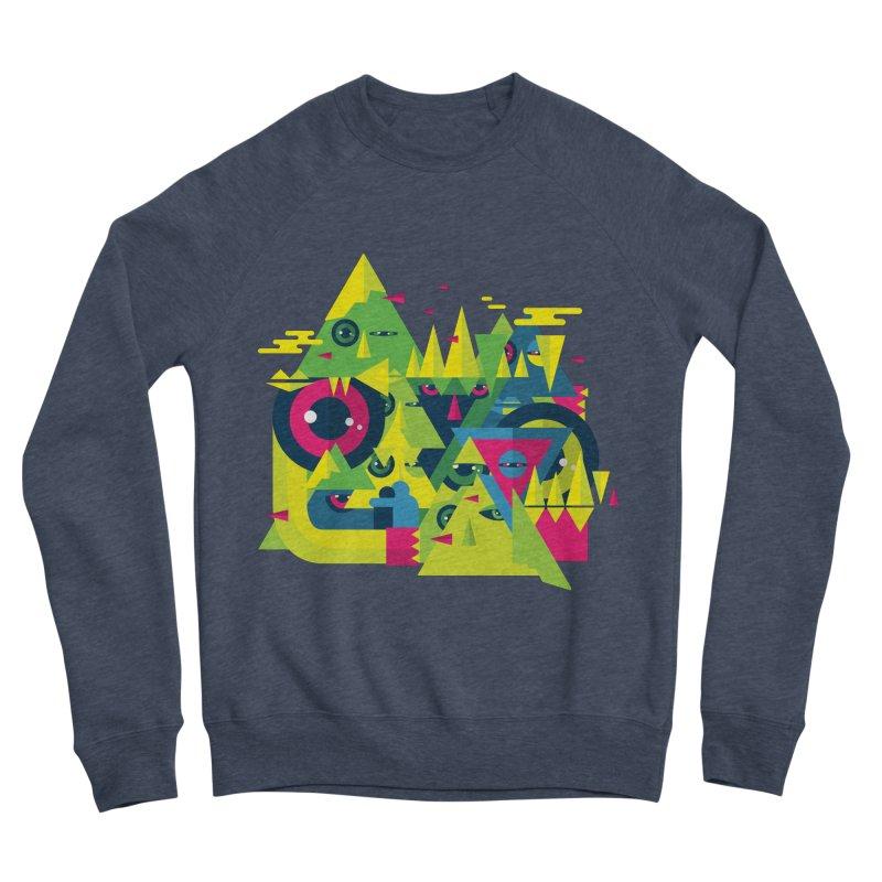 The Moment Men's Sponge Fleece Sweatshirt by Jana Artist Shop