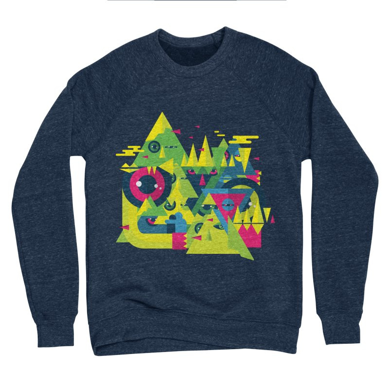 The Moment Men's Sponge Fleece Sweatshirt by Jana Artist Shop