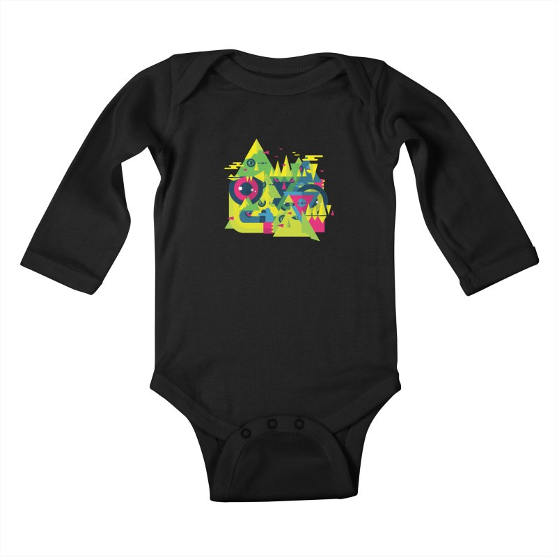 The Moment Kids Baby Longsleeve Bodysuit by Jana Artist Shop