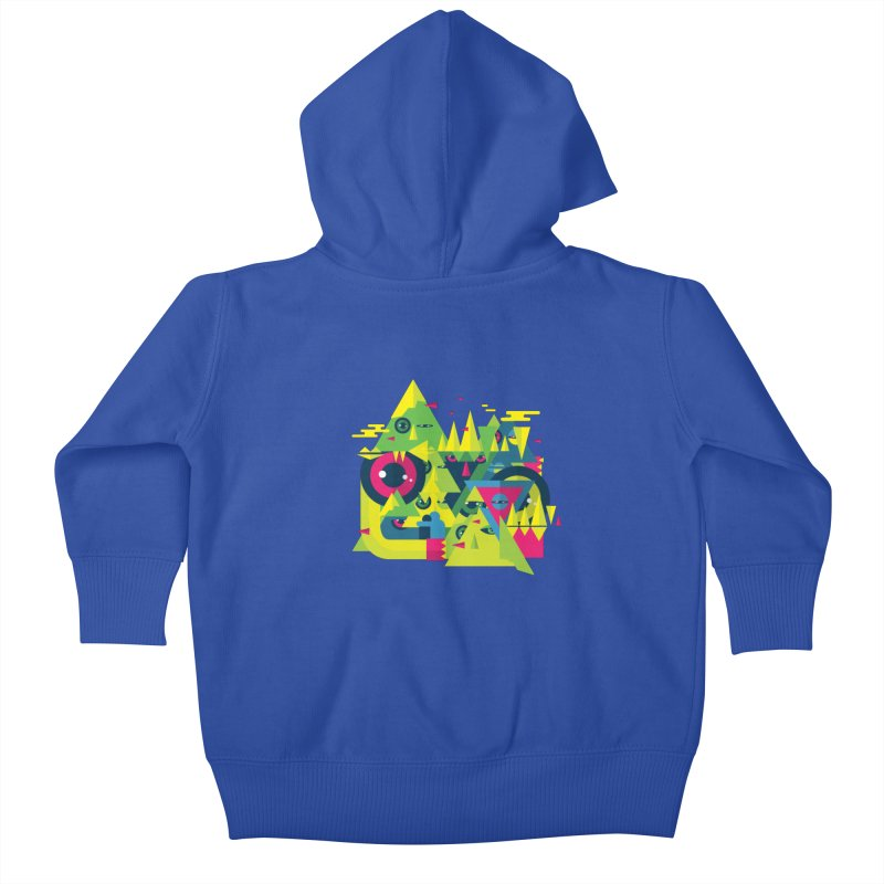 The Moment Kids Baby Zip-Up Hoody by Jana Artist Shop
