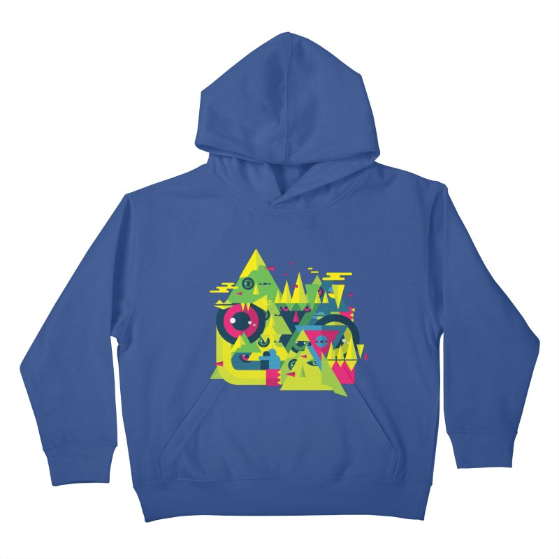 The Moment Kids Pullover Hoody by Jana Artist Shop