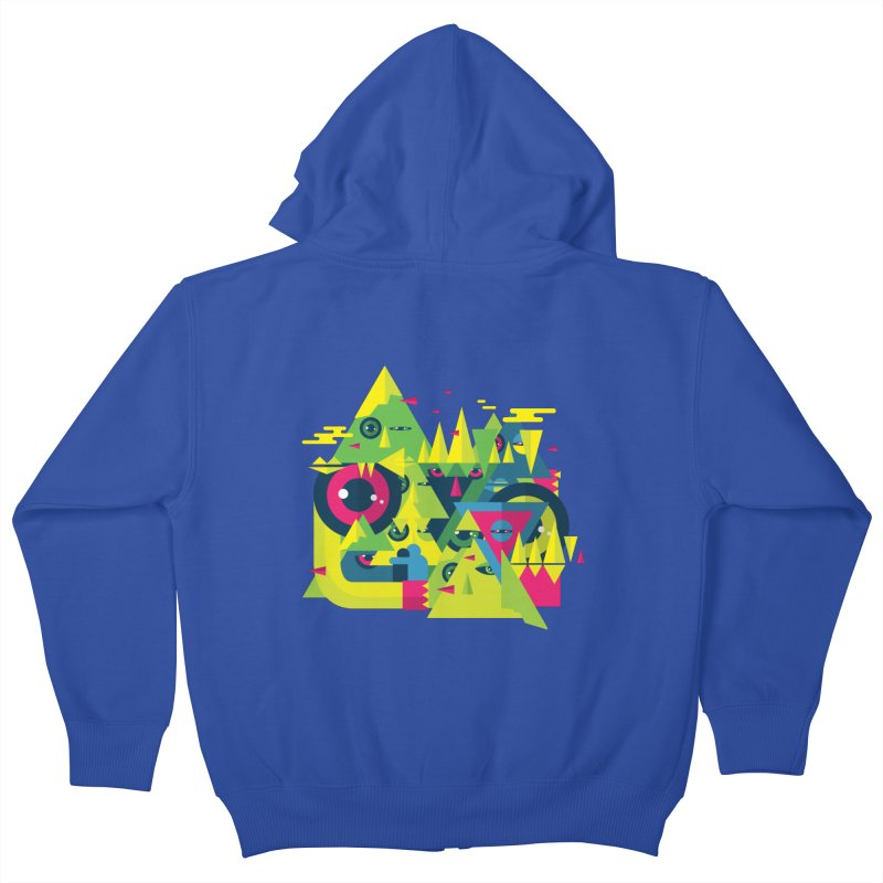 The Moment Kids Zip-Up Hoody by Jana Artist Shop