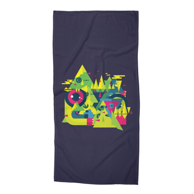 The Moment Accessories Beach Towel by Jana Artist Shop