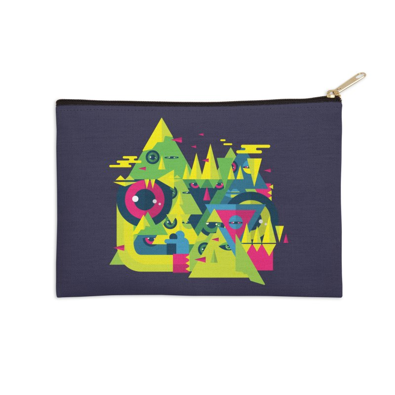 The Moment Accessories Zip Pouch by Jana Artist Shop