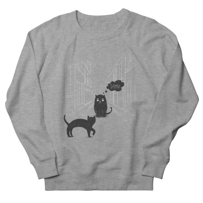 The Superstitious Cat Women's Sweatshirt by Jana Artist Shop