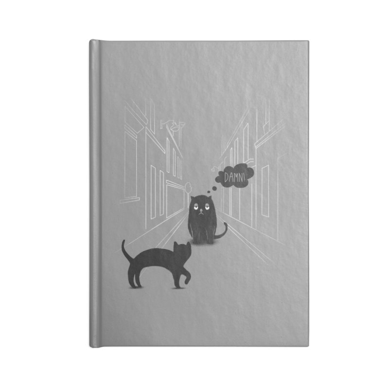 The Superstitious Cat Accessories Notebook by Jana Artist Shop