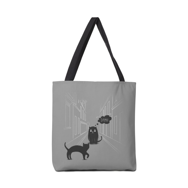 The Superstitious Cat Accessories Bag by Jana Artist Shop
