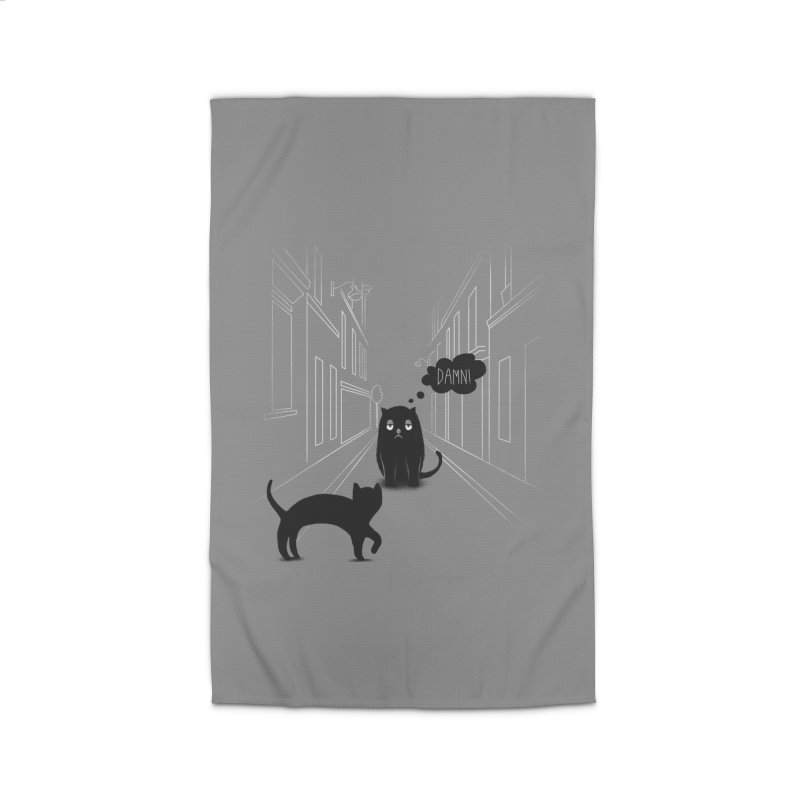 The Superstitious Cat Home Rug by Jana Artist Shop