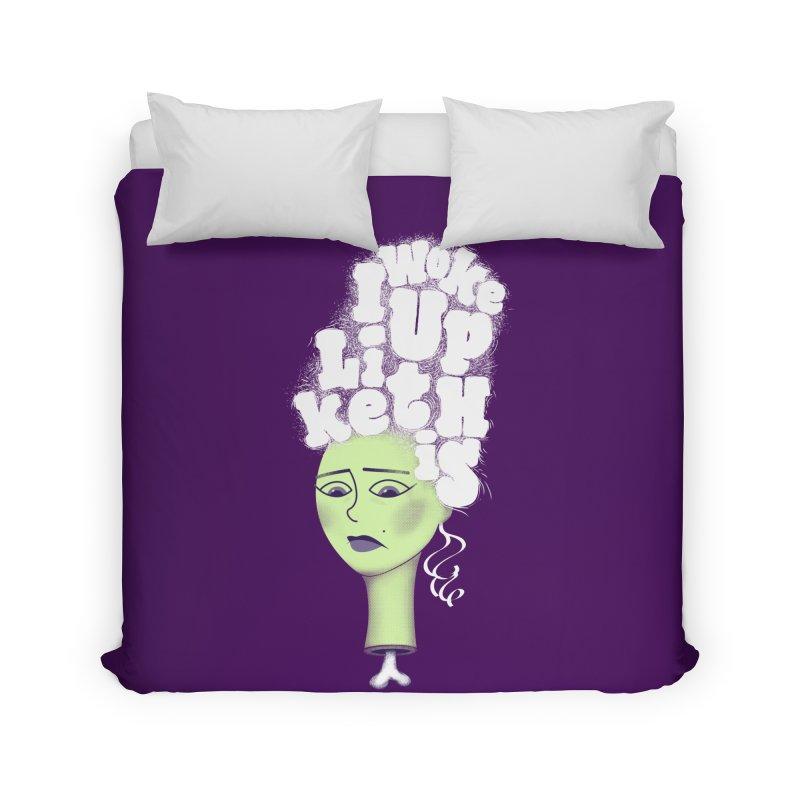 I Woke Up Like This Home Duvet by Jana Artist Shop