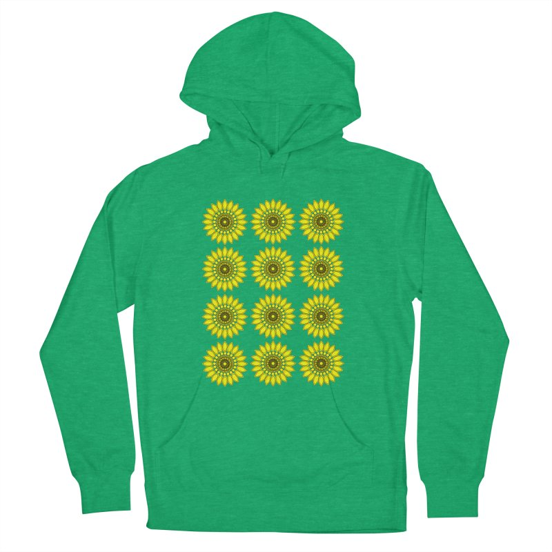 Daisy Day  Women's Pullover Hoody by jandeangelis's Artist Shop