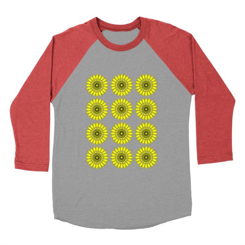 Daisy Day  Women's Baseball Triblend T-Shirt by jandeangelis's Artist Shop