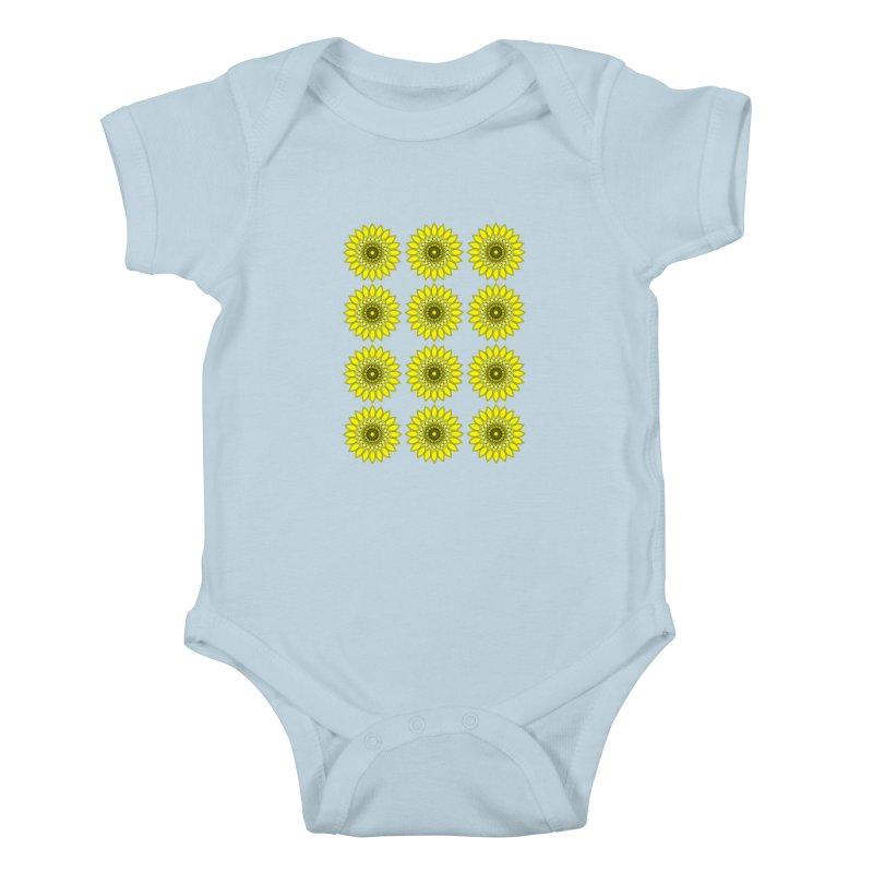 Daisy Day  Kids Baby Bodysuit by jandeangelis's Artist Shop
