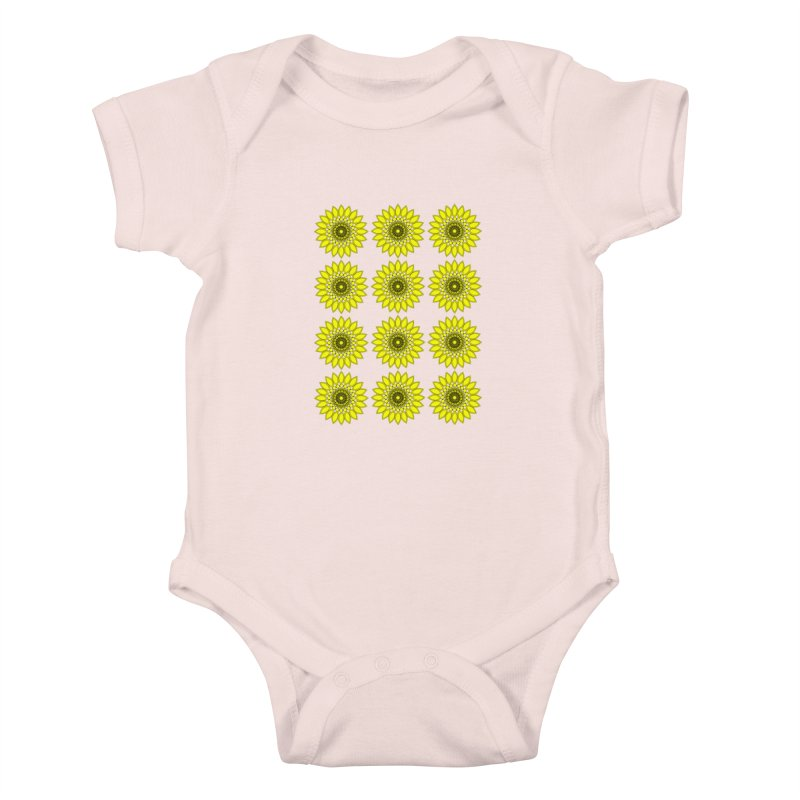 Daisy Day  Kids Baby Bodysuit by jandeangelis's Artist Shop