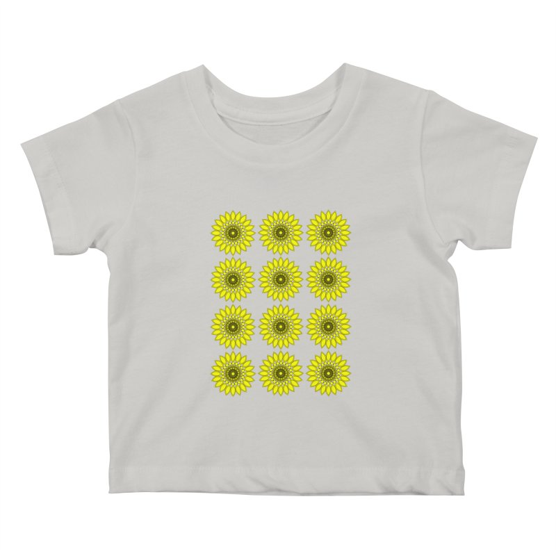 Daisy Day  Kids Baby T-Shirt by jandeangelis's Artist Shop