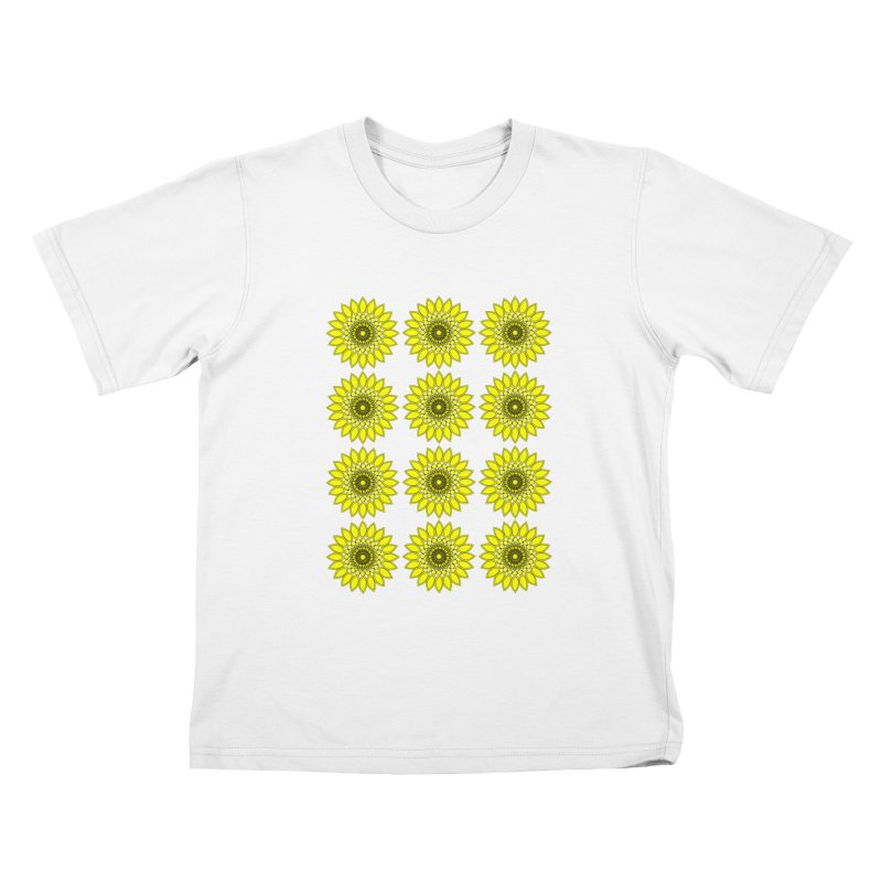 Daisy Day  Kids T-Shirt by jandeangelis's Artist Shop