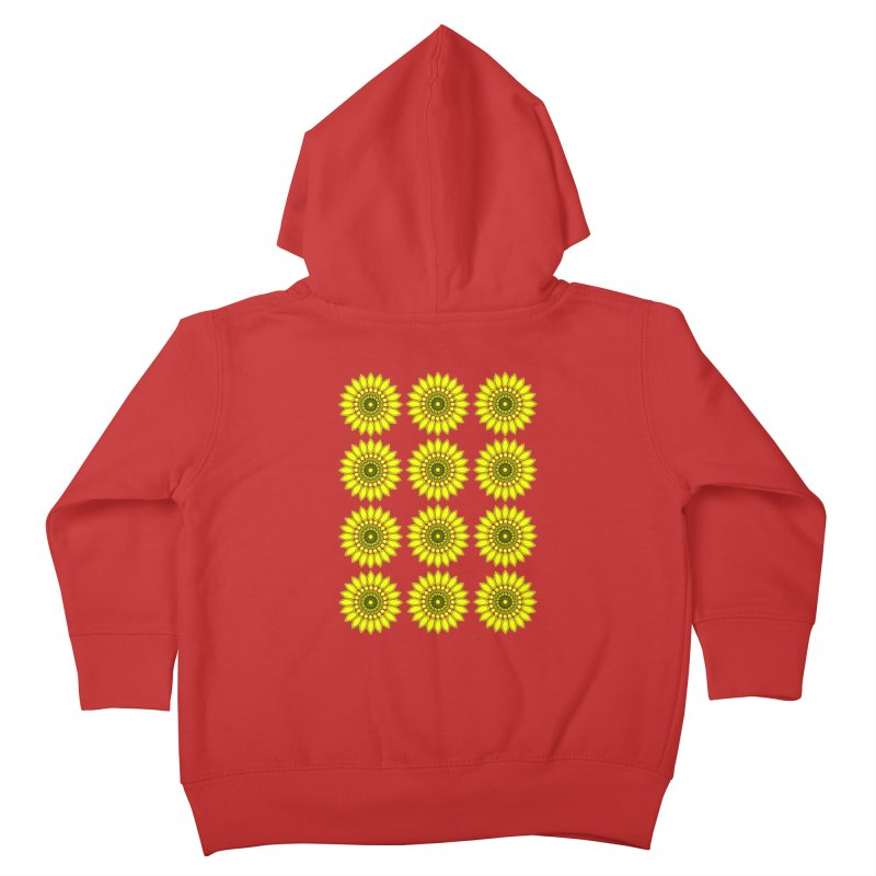 Daisy Day  Kids Toddler Zip-Up Hoody by jandeangelis's Artist Shop