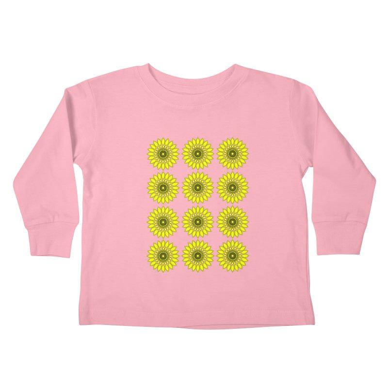 Daisy Day  Kids Toddler Longsleeve T-Shirt by jandeangelis's Artist Shop