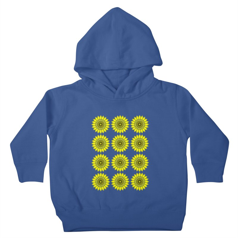 Daisy Day  Kids Toddler Pullover Hoody by jandeangelis's Artist Shop