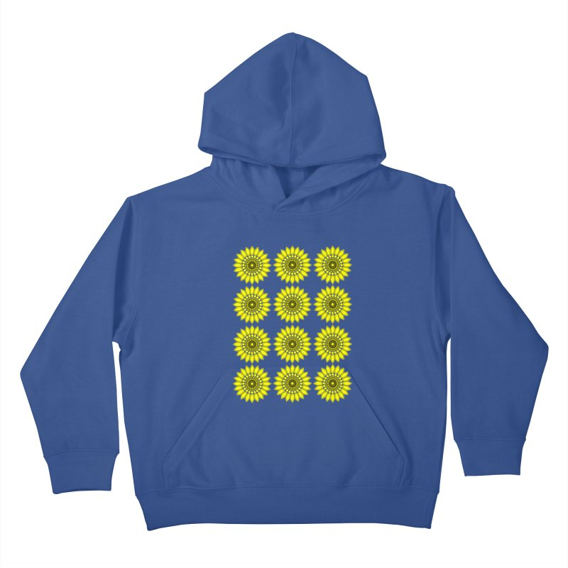 Daisy Day  Kids Pullover Hoody by jandeangelis's Artist Shop