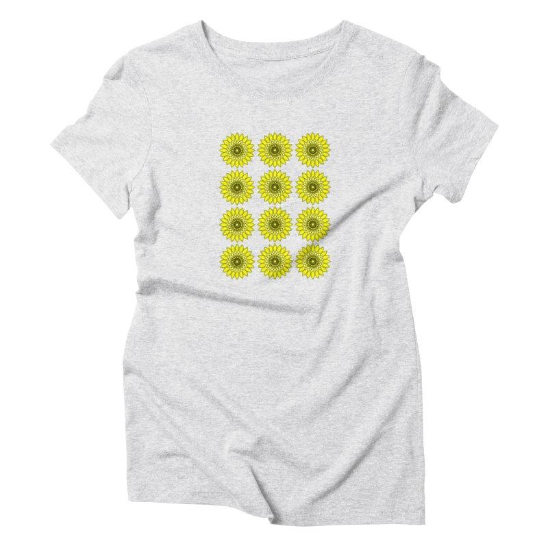 Daisy Day  Women's T-Shirt by jandeangelis's Artist Shop