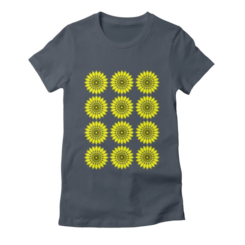 Daisy Day  Women's T-Shirt by jandeangelis's Artist Shop