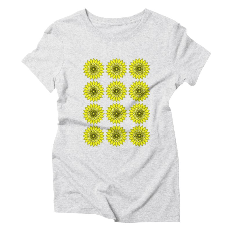 Daisy Day  Women's Triblend T-Shirt by jandeangelis's Artist Shop