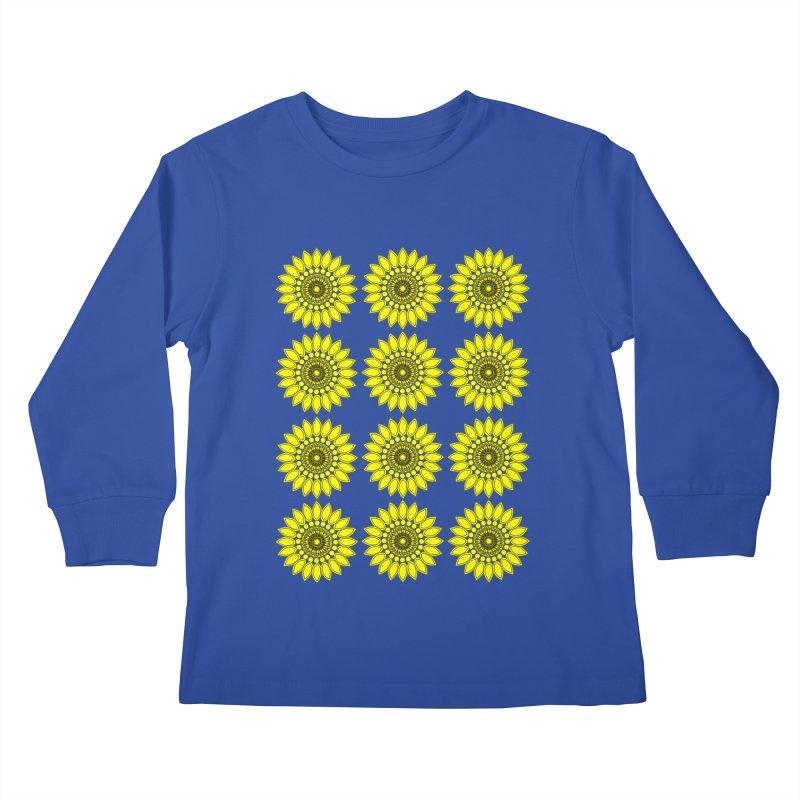 Daisy Day  Kids Longsleeve T-Shirt by jandeangelis's Artist Shop