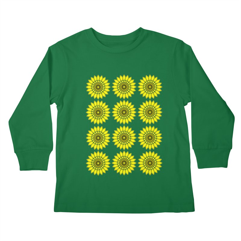 Daisy Day  Kids Longsleeve T-Shirt by jandeangelis's Artist Shop