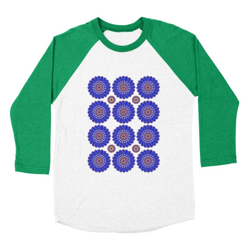 Blue Daisy  Women's Longsleeve T-Shirt by jandeangelis's Artist Shop