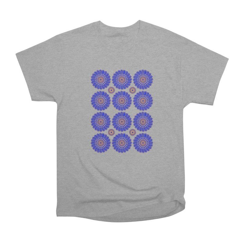 Blue Daisy  Women's Classic Unisex T-Shirt by jandeangelis's Artist Shop