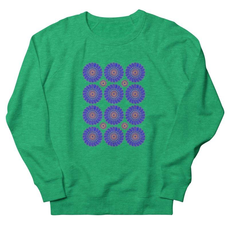 Blue Daisy  Women's Sweatshirt by jandeangelis's Artist Shop