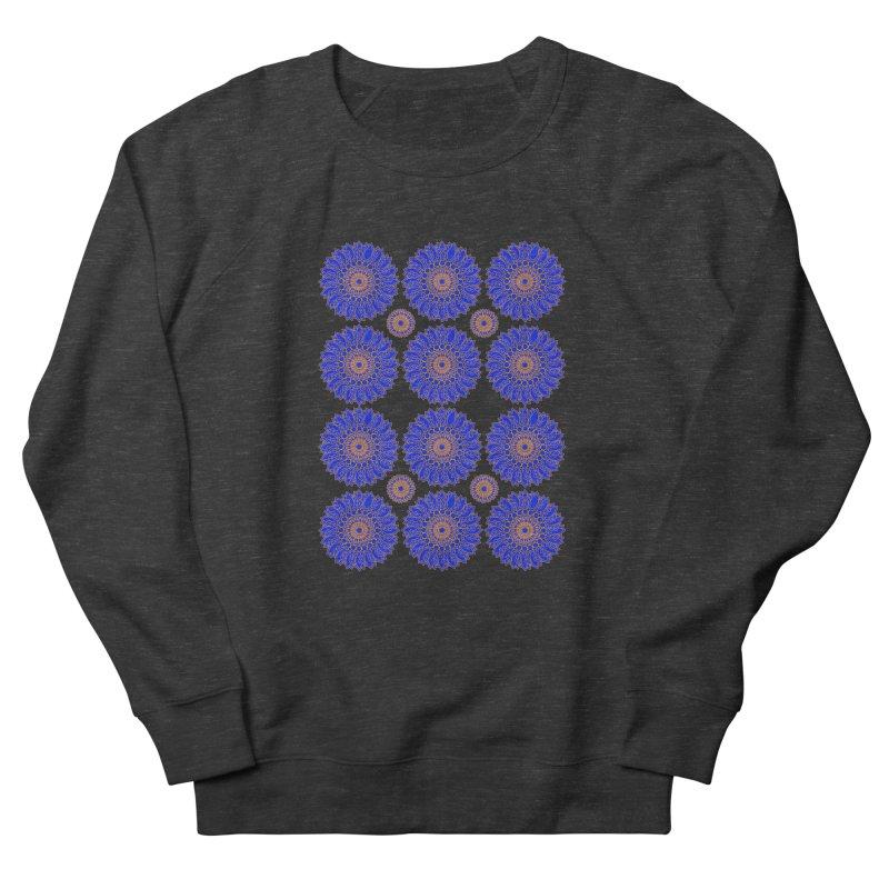Blue Daisy  Women's French Terry Sweatshirt by jandeangelis's Artist Shop