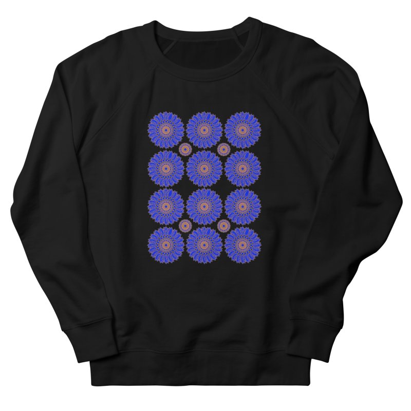 Blue Daisy  Women's Sweatshirt by jandeangelis's Artist Shop