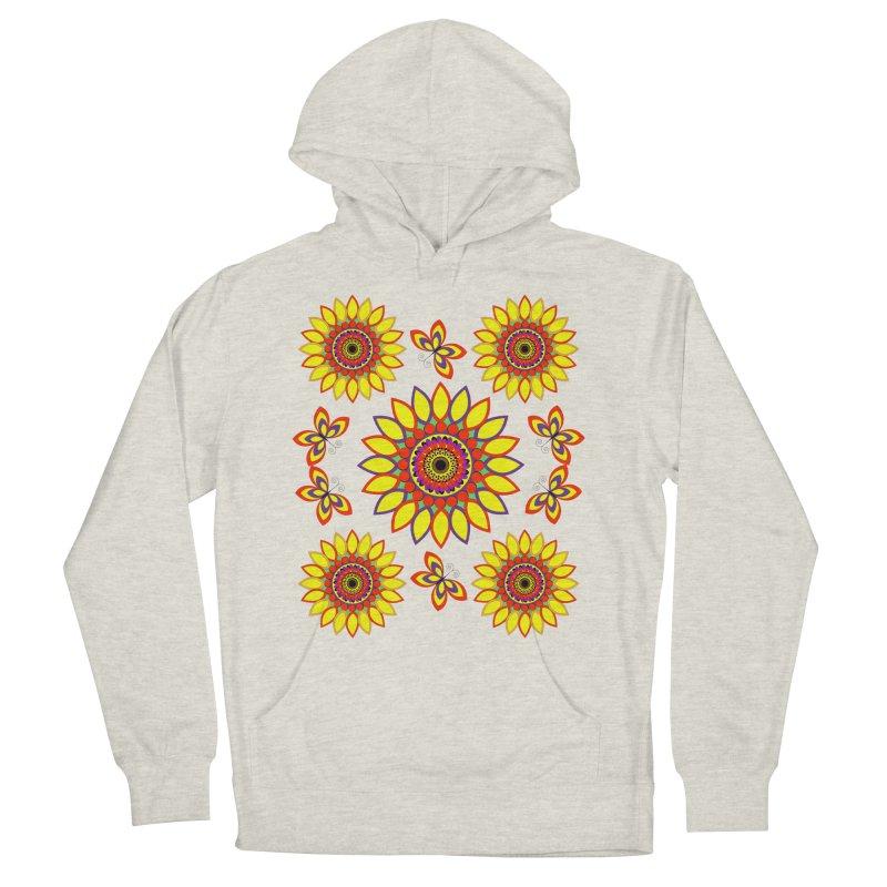 Daisy Days of Summer Women's Pullover Hoody by jandeangelis's Artist Shop