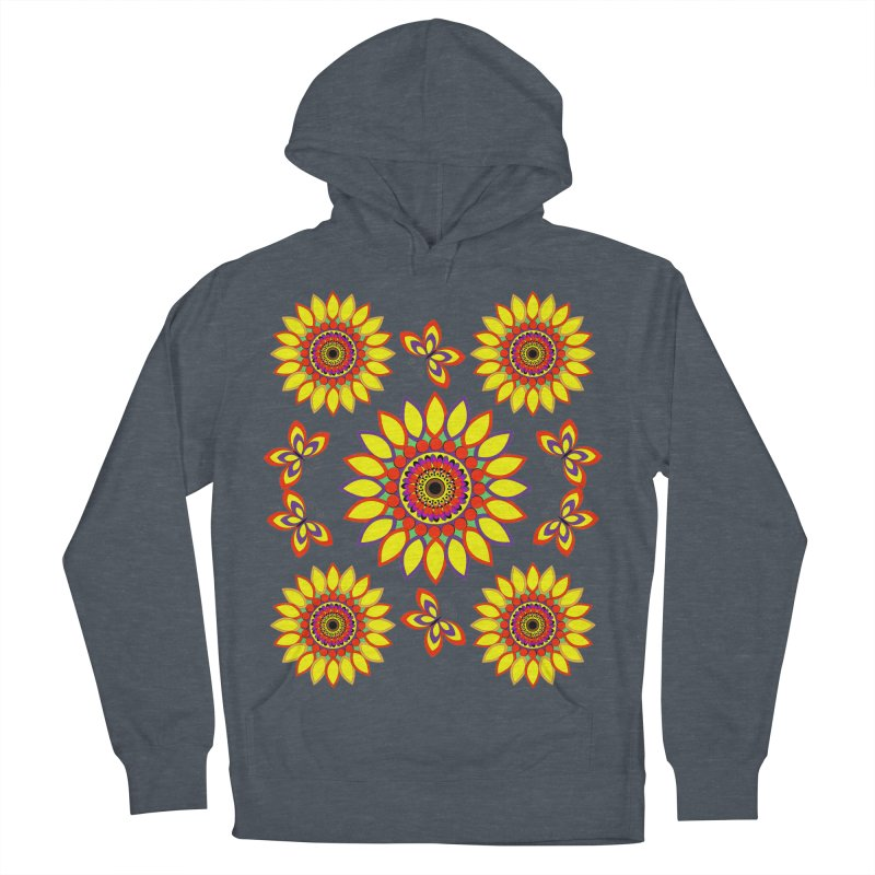 Daisy Days of Summer Women's Pullover Hoody by jandeangelis's Artist Shop