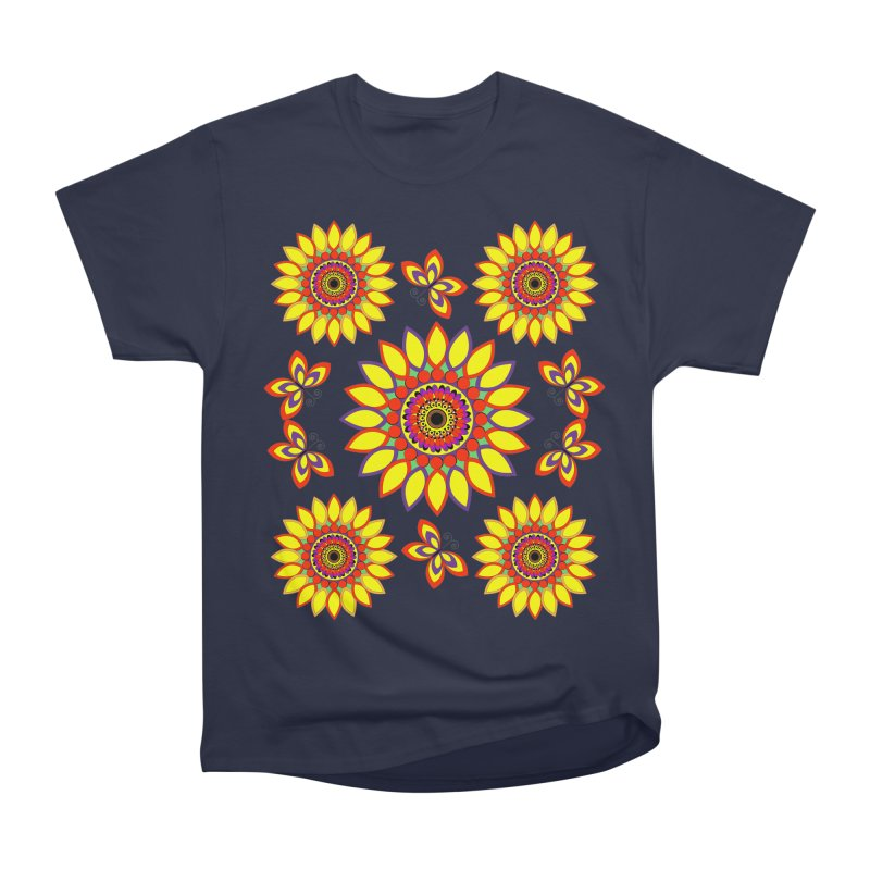 Daisy Days of Summer Women's Heavyweight Unisex T-Shirt by jandeangelis's Artist Shop