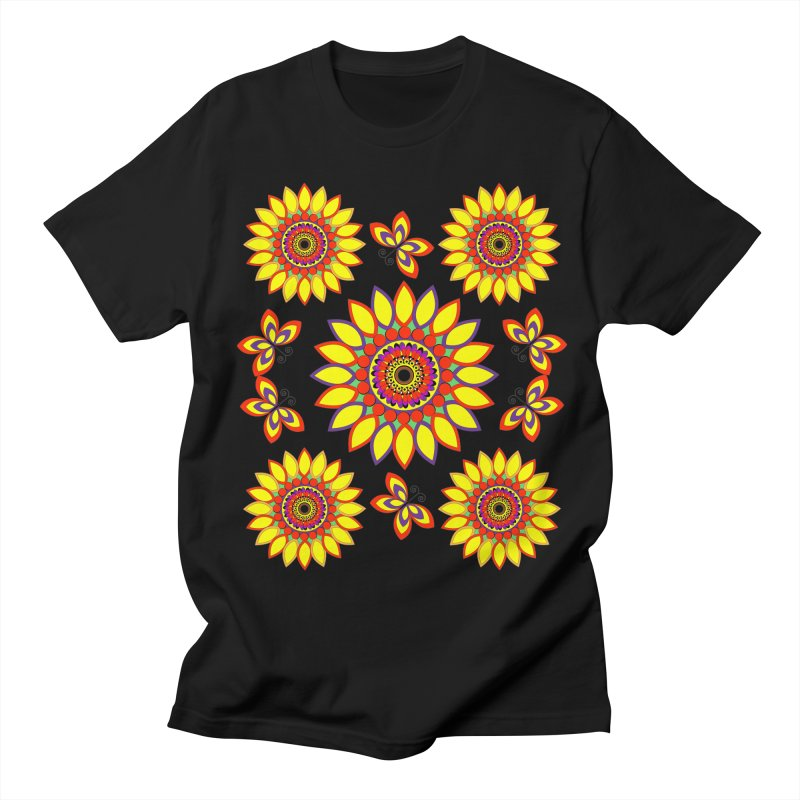 Daisy Days of Summer Women's Regular Unisex T-Shirt by jandeangelis's Artist Shop