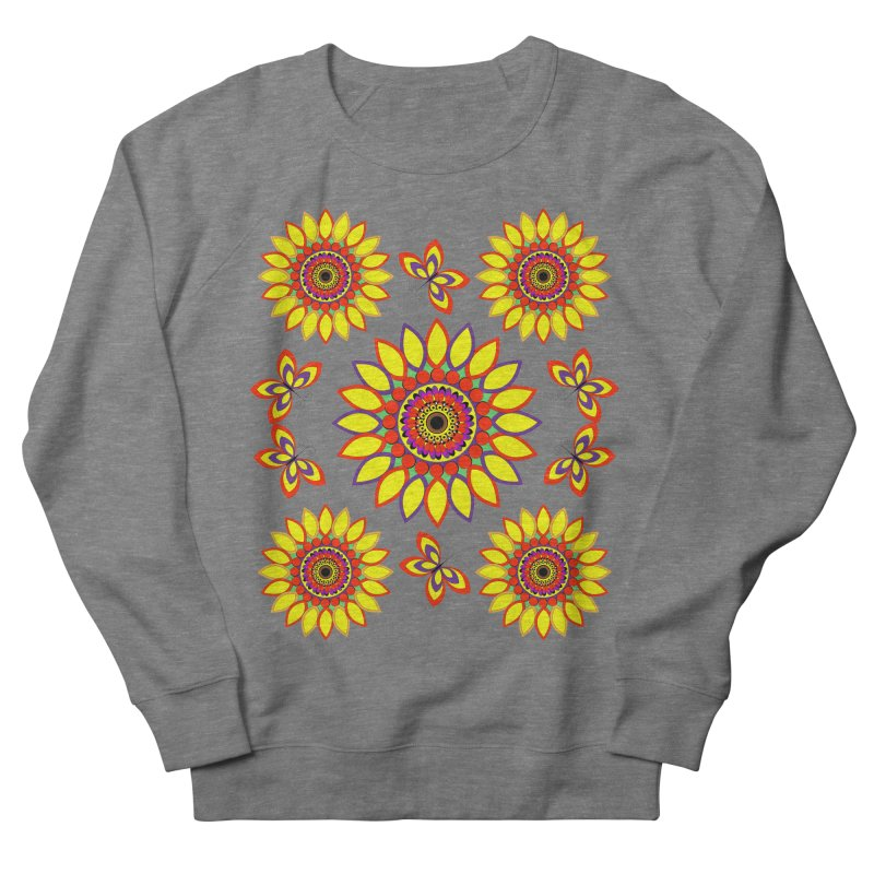 Daisy Days of Summer Women's French Terry Sweatshirt by jandeangelis's Artist Shop