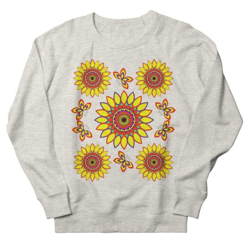 Daisy Days of Summer Women's French Terry Sweatshirt by jandeangelis's Artist Shop